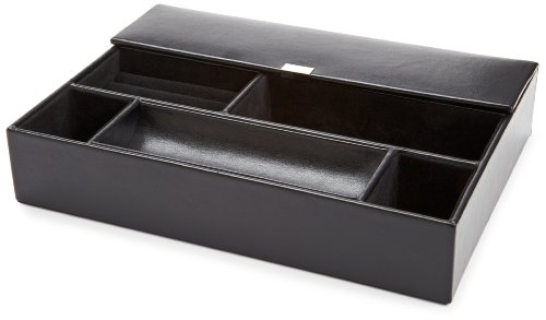 WOLF 290402 Heritage Valet Tray, Black from WOLF