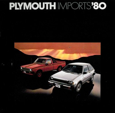 1980 Plymouth Champ Sapporo and Arrow Truck Sales Brochure