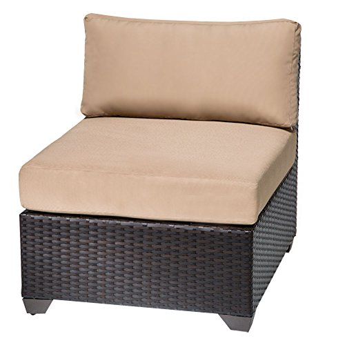 TKC Barbados Armless Patio Chair (Set of 2)