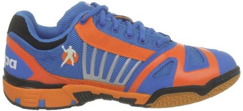Kempa Cyclone 200847301 - Zapatillas de balonmano unisex - Kempa Bleu/orange Paille/noir