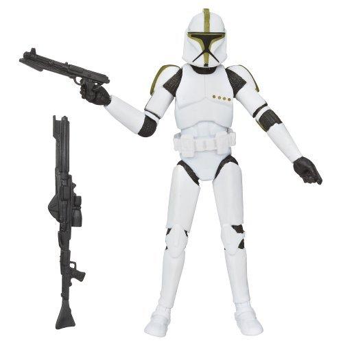 Star Wars 3.75 inches Basic Figure supermarkets Sargent / STAR WARS BLACK SERIES CLONE TROOPER SERGEANT [parallel import version] Zuzu GREEN & YELLOW & (Green Clone Trooper)