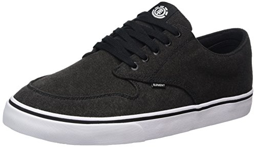 Element Herren Topaz C3 Low-Top Schwarz (Black washed)