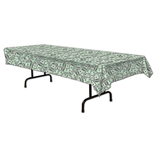 Big Bucks Tablecover Party Accessory (Value 3-Pack) by Beistle