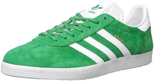 adidas Gazelle Green White Gold Met   Footshop