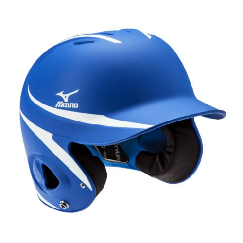 Mizuno Mvp G2 Batters Helmet  Royal White  Adjustable Size