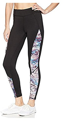 脆い盲目適用するXOXO Athletic Capri Print Leggings with Mesh Inserts ( See More Colors and Sizes )