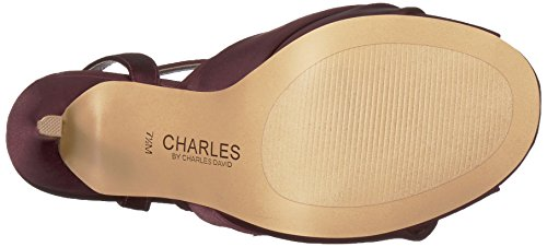Charles Di Charles David Womens Rachel Pump Burgundy