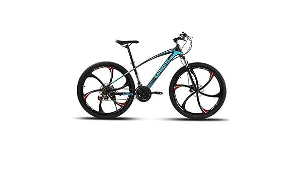 Bicicleta de Montaña con Doble Suspensión y Frenos de Disco ...