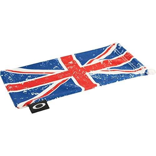 Oakley Microclear Microbag Sunglass Accessories - UK Flag / One - Eyewear Uk