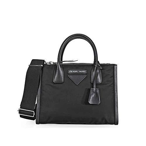 Prada Concept Medium Fabric/Leather Crossbody - ()