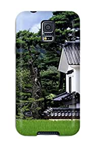 Hot Tpye Japanese Architecture Case Cover For Galaxy S5