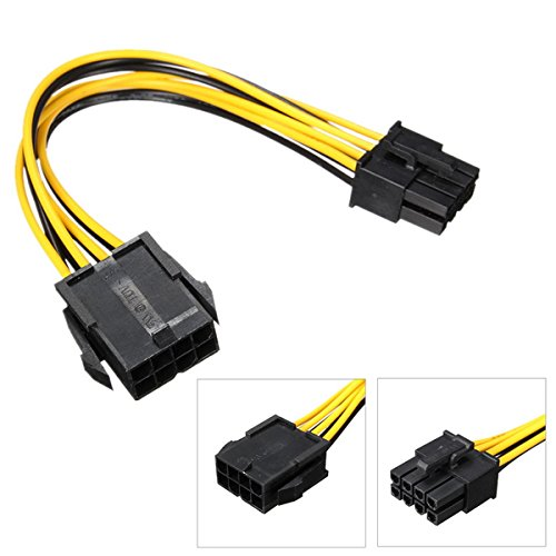 PCIe 8pin Male to 8 pin Female PCI Express Power Extension Cable for Video Card