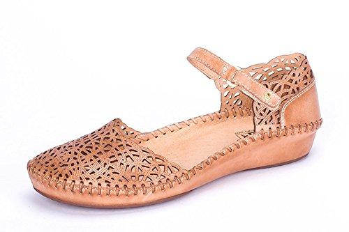71d57653 Pikolinos P.Vallarta 655-1532-Sandalias de vestir de cuero para mujer,