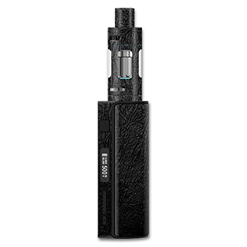 Eleaf iStick 60W TC Melo 2 – Black Leather | Protective, Durable, and Unique Vinyl Decal wrap Cover | Easy to Apply, Remove, and Change Styles | Made in The USA ()