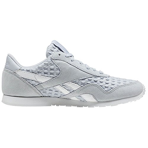 Cl Slim Femme Architect Gris Nylon Reebok Chaussures Baskets qfUnPnt