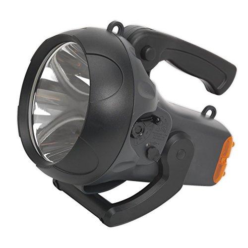 大人気新作 Sealey LED438 B01MDTSDTY W、ブラック CREE LED充電式スポットライト、10 LED438 W、ブラック B01MDTSDTY, 都だし本舗:798309c7 --- a0267596.xsph.ru