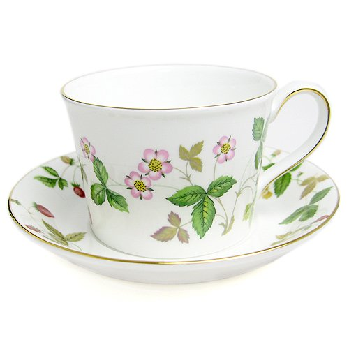 Wedgwood ( Wedgwood ) Wild Strawberry tea cup and saucer Philadelphia over [ parallel import goods (Wedgwood Wild Strawberry)
