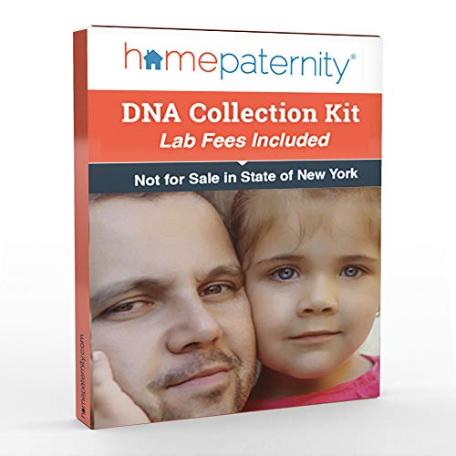 Home Paternity DNA Test Kit | Lab Fees Included | Results in 1-2 Business Days | No Cost to Return Samples | Simple, Accurate | Confidential Results in The Privacy ()