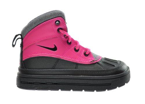 Nike Woodside 2 High  Little Kids Boots Pink Foil/Black-Cool