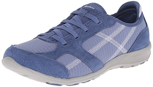 Skechers Sport Women's Dreamchaser Ante Up Walking Shoe,Blue,11 M - Dreamchasers Apparel