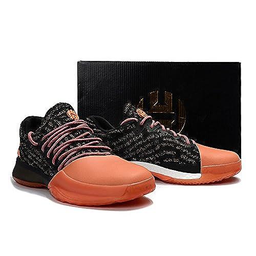 new style e2b0f dc6d6 chic Men's Harden Vol. 1 Shoes James Harden Basketball Shoes - Orange/Black