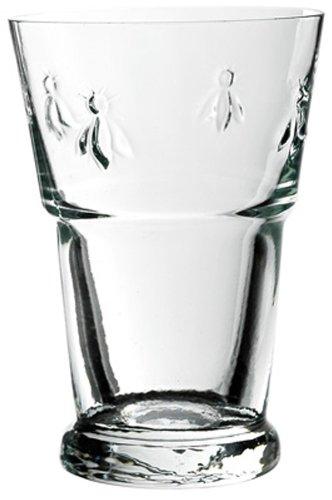 La Rochere Set Of 6, 13.5-ounce Napoleon Bee Beer Glasses