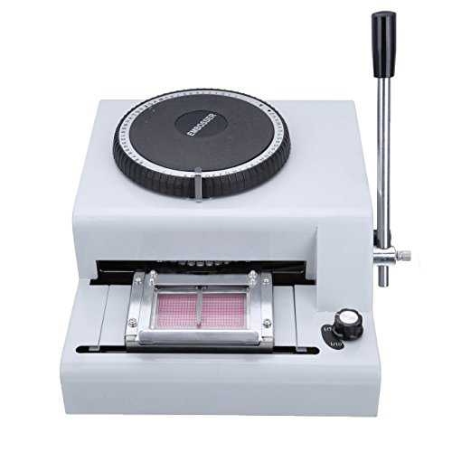 ShareProfit Card Embosser Embossing Machine 72 Characters for ID Cards by ShareProfit