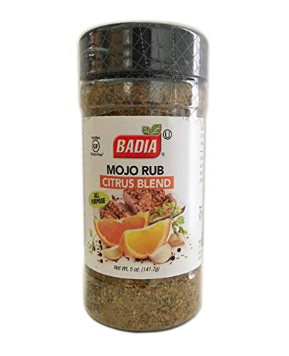(5 oz Mojo Rub Citrus All Purpose Seasoning/Sazon para Carnes, pescado Adobo Kosher)