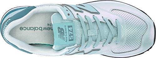 Baskets Femme Wl574v2 New Balance Turquoise aEqxvxHfRw