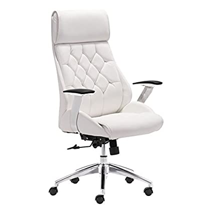 Charmant Zuo Modern Boutique Office Chair, White