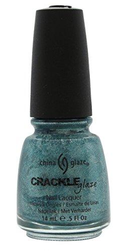 China Glaze Crackle Metals Nail Polish   Oxidized Aqua   0 5 Oz