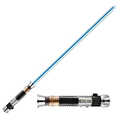 Obi Wan Kenobi FX Lightsaber w/Removable Blade by Hasbro