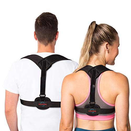 Supportex Back Posture Corrector Brace for Men and Women - Effective Solution for Shoulder Alignment Thoracic Support Kyphosis Slouching and Hunching - Clavicle Support
