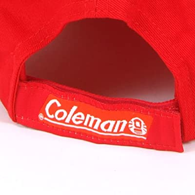 Coleman Red Powercap Hands-Free LED Flashlight Cap with 3 Modes