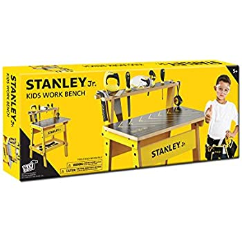Enjoyable Amazon Com Red Toolbox Stanley Jr Work Bench Toys Games Caraccident5 Cool Chair Designs And Ideas Caraccident5Info