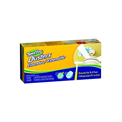 Procter & Gamble Swiffer Duster Extended Handle and 3 Dusters Per Box, 1 Box