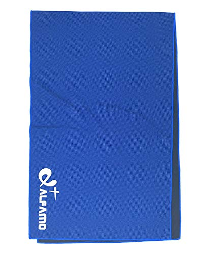 Chilly Towel - 47 x 14 Cooling Bandana Neck Cooler - Personal Cooling Device - Keep Chill for Running Biking Hiking Tennis Golf & All Other Sports Exercise Fitness, Gift for Golfers