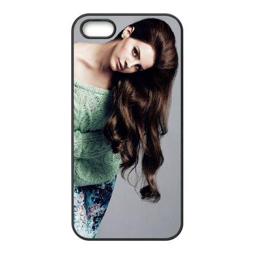 Lana Del Rey Brunette Sweater Jeans 58049 coque iPhone 5 5S cellulaire cas coque de téléphone cas téléphone cellulaire noir couvercle EOKXLLNCD25433