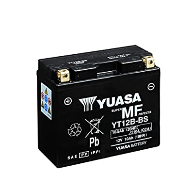 Yuasa Battery Yt12bbs Battery Sealed Lead Acid