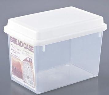 Rilkean Heart Brotkasten Aufbewahrung Brot Transparent Kunststoff