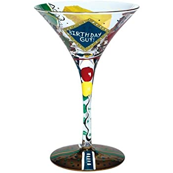 Lolita Love My Martini Glass, Birthday Guy