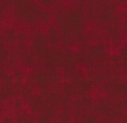 Moda Marble Quilt Fabric Red Fat ()