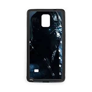 Mortal Kombat X 15 Samsung Galaxy Note 4 Cell Phone Case Black Cell Phone Case Cover EEECBCAAK02797