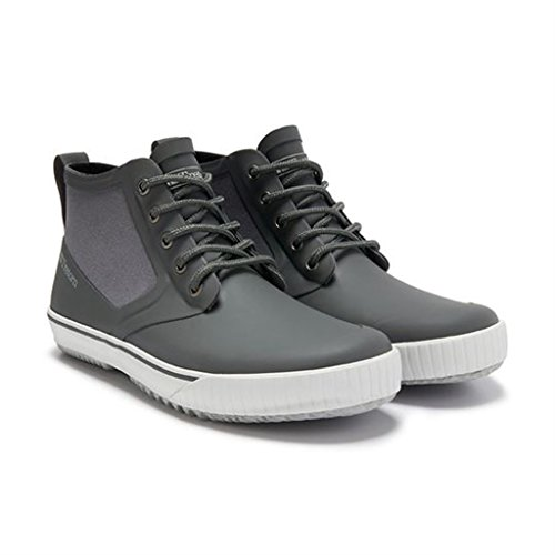 Tretorn Men's New Gunnar Rain Shoe, Gunmetal, 46 EU12 M US