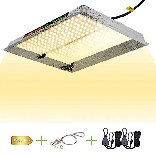 MARS HYDRO TS 1000W Led Grow Light Sunlike Full Spectrum LED Growing Lights for Indoor Plants Greenhouse Veg Bloom with Updated 342 LEDs Hydroponic Led Growing Lamps with Hanger Actual Power 150Watt
