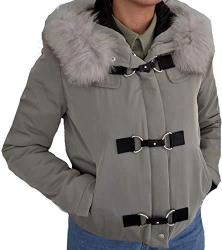 Aquascutum Warwick Gris Femme Parka Blouson Woman Jacket Short Veste Grey S rSIZwSBqA