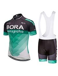 Nawing Cycling Jersey Sets 9D BIB Shorts 2-Piece Bike Quick Dry Bicycle Clothing