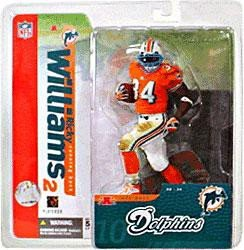 - McFarlane Toys NFL Sports Picks Series 10 Action Figure Ricky Williams (Miami Dolphins) Orange Jersey Variant