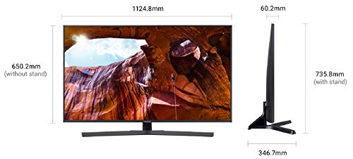 Samsung 125 cm (50 Inches) 4K Ultra HD Smart LED TV UA50RU7470UXXL (Black)