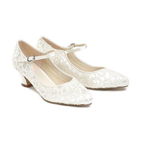 mariage de style 5 Paradox Chaussures de Jane 38 Ivoire vintage sirène EU London en dentelle Mary style UK qtYYrE